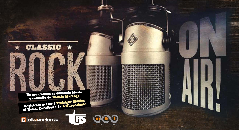 ClassicRockOnAir: ecco tutte le radio che trasmettono il programma ideato da Renato Marengo in partnership col MEI!