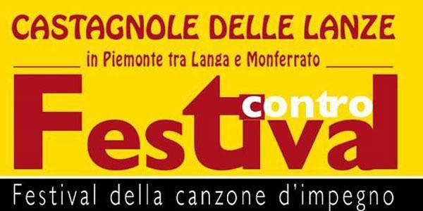 La Rete dei Festival invita // Festival Contro 2017, dal 19 al 30 agosto il festival della canzone d'impegno, Castagnole delle Lanze (AT),